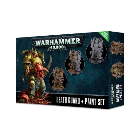 Warhammer 40.000 - Death Guard + Paint Set - The Gamebusters