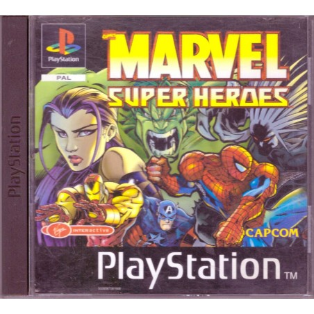 Marvel Super Heroes - PS1
