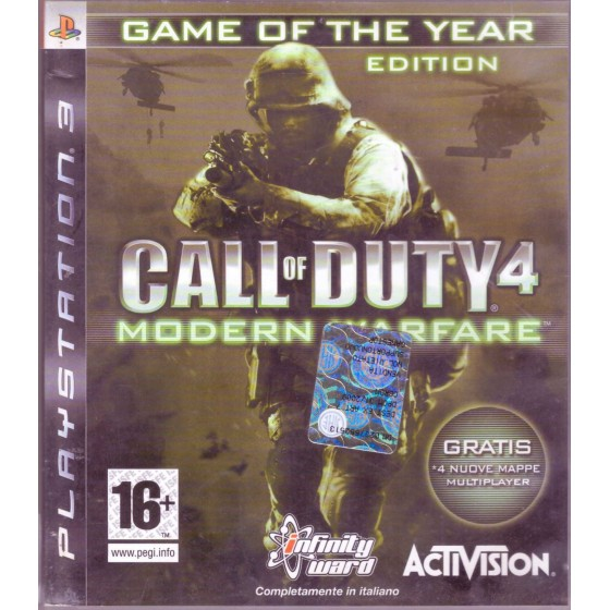 Call of Duty 4: Modern Warfare - GOTY - PS3