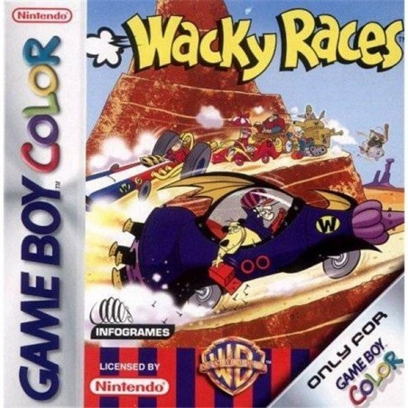 Wacky Races - Game Boy Color