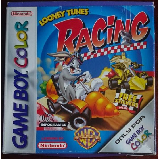 Looney Tunes Racing - Game Boy Color usato