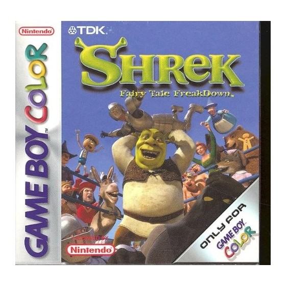 Shrek Fairy Tale Freakdown - Game Boy Color
