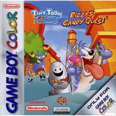 Tiny Toon Adventures - Dizzy's Candy Quest - Game Boy Color