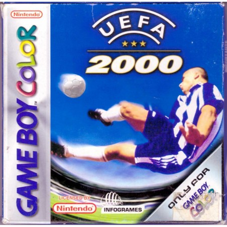 UEFA 2000 - Game Boy Color usato