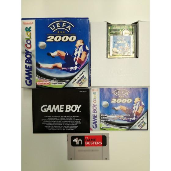 UEFA 2000 - Game Boy Color usato