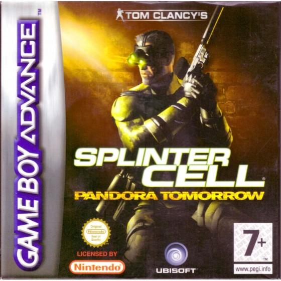Tom Clancy's Splinter Cell Pandora Tomorrow - Game Boy Color
