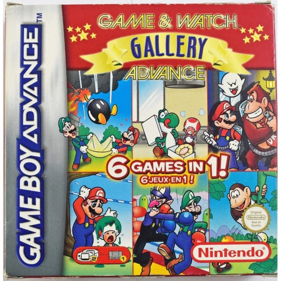 Game & Watch Gallery Advance - Game Boy Advance