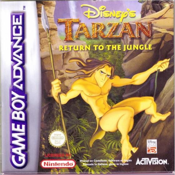 Disney's Tarzan Return to the Jungle - Game Boy Advance