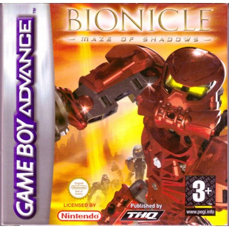 Bionicle Maze of Shadows - Game Boy Advance