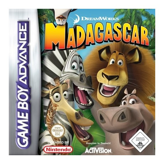 Madagascar - Game Boy Advance
