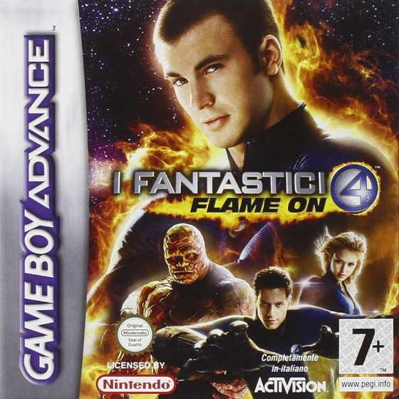 Fantastic 4: Flame On - Game Boy Advance
