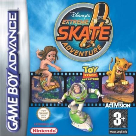 Disney's Extreme Skate Adventure - Game Boy Advance