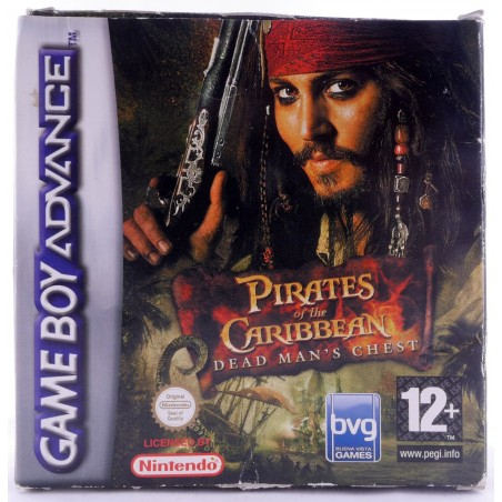 Pirati dei Caraibi - La Maledizione del Forziere Fantasma - Game Boy Advance
