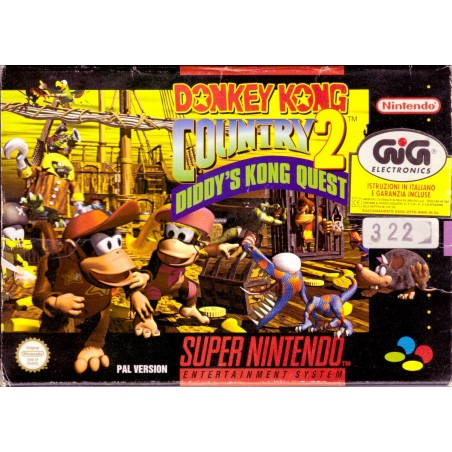 Donkey Kong Country 2: Diddy's Kong Quest - SNES