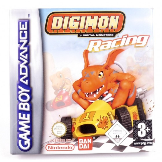 Digimon Racing - Game Boy Advance