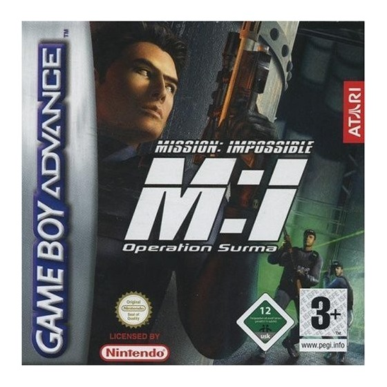 Mission Impossible: Operation Surma - Game Boy Advance