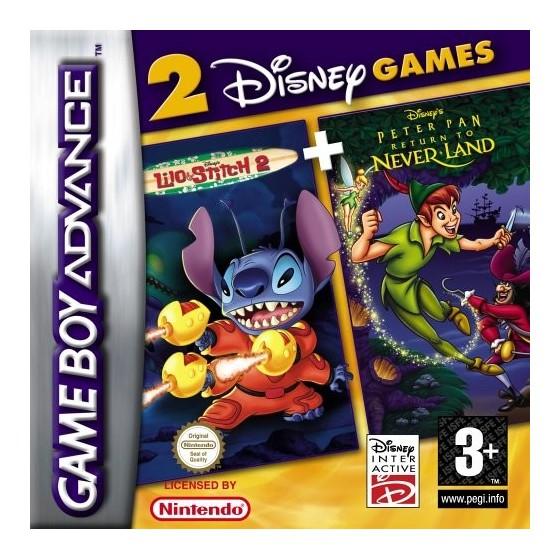 Disney's Lilo & Stitch 2 + Peter Pan Return to Never Land - Game Boy Advance