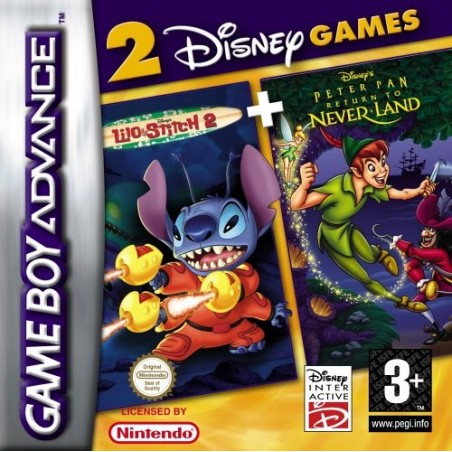 Disney's Lilo & Stitch 2 + Peter Pan Return to Never Land - Game Boy Advance