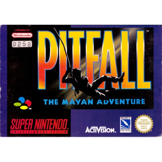Pitfall - The Mayan Adventure - SNES