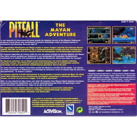 Pitfall - The Mayan Adventure - SNES usato