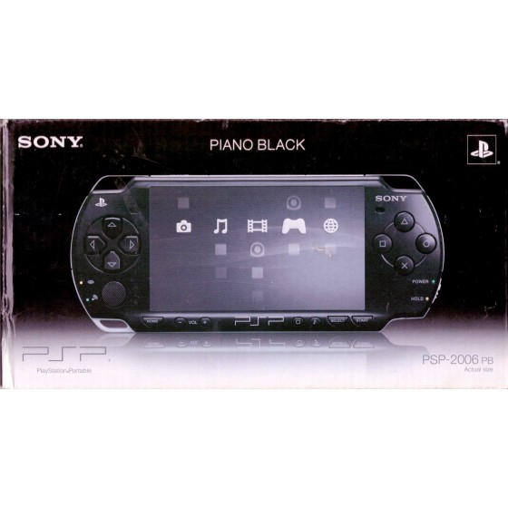 PSP 2006 Piano Black Slim & Lite - PSP