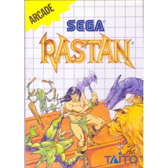 Rastan - Sega Master System
