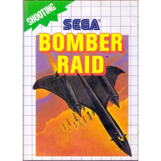 Bomber Raid - Sega Master System