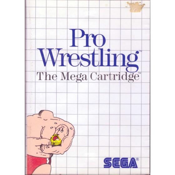 Pro Wrestling - SEGA Master System