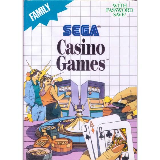 Casino Games - SEGA Master System