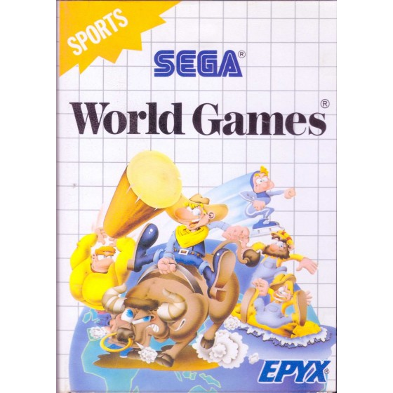 World Games - SEGA Master System
