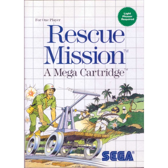 Rescue Mission - SEGA Master System