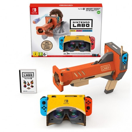 Nintendo Labo - Toy-Con Kit VR (Set Base + Blaster) - Switch