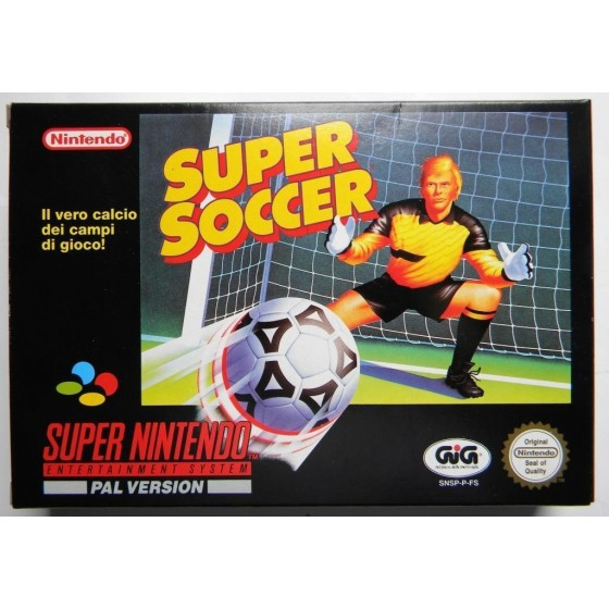 Super Soccer - SNES