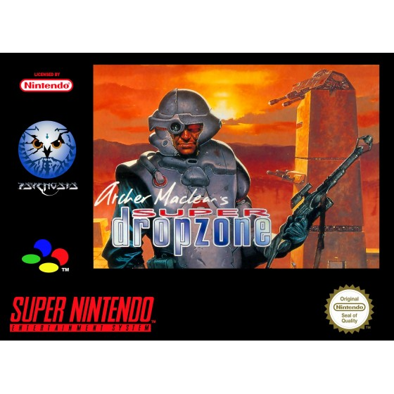 Super Dropzone - SNES