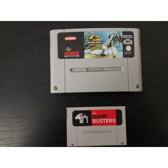 Jurassic Park The Chaos Continues  - SNES usato