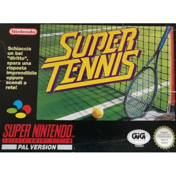 Super Tennis - SNES