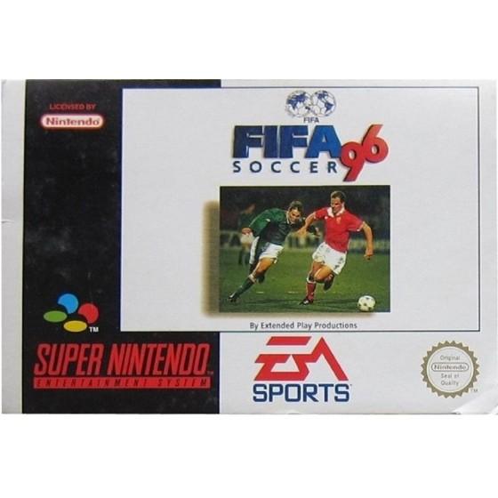 FIFA Soccer 96 - SNES