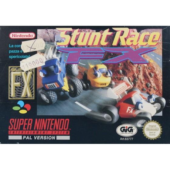 Stunt Race FX - SNES