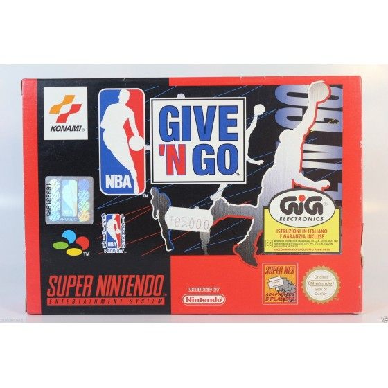NBA Give 'N Go - SNES