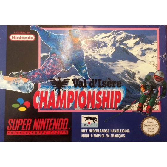 Val d'Isere Championship - SNES