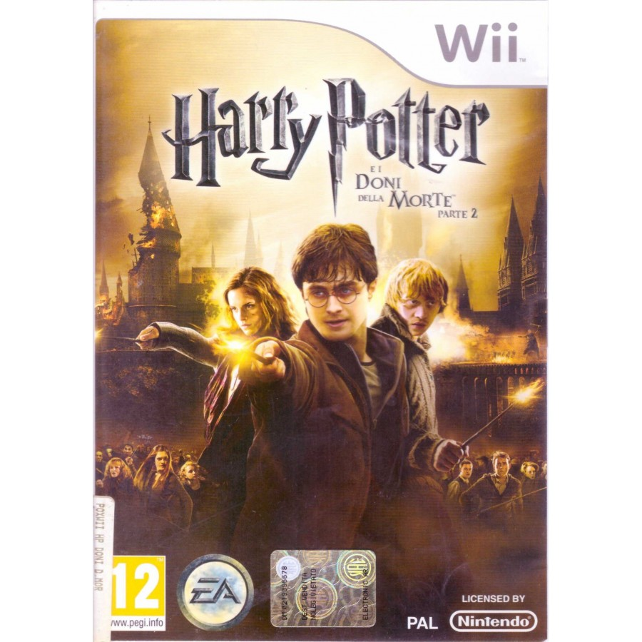 Harry Potter e i Doni della Morte - Parte 2 - Wii