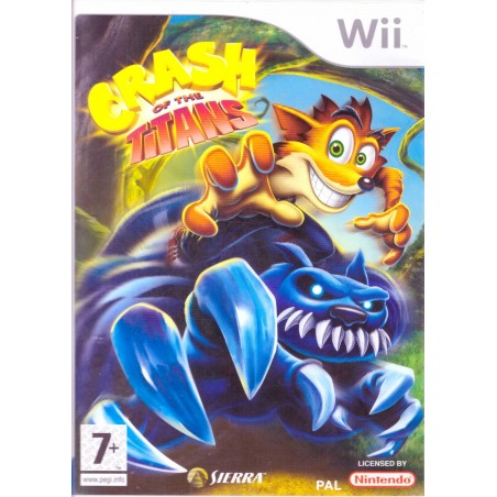 Crash of the Titans - Wii