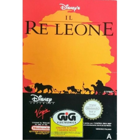 Disney's Il Re Leone - NES