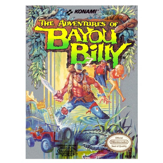 The Adventures of Bayou Billy - NES usato