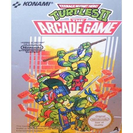 Teenage Mutant Hero Turtles II - NES