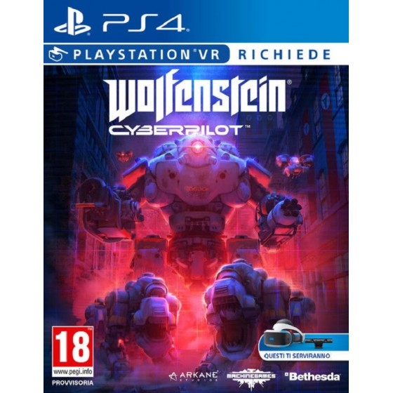 Wolfenstein Cyberpilot -  PS4 - The Gamebusters