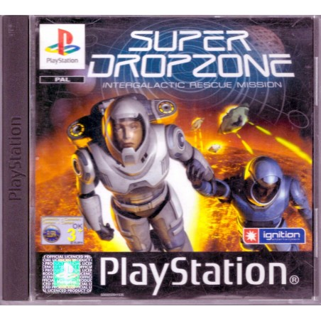 Super Dropzone - PS1