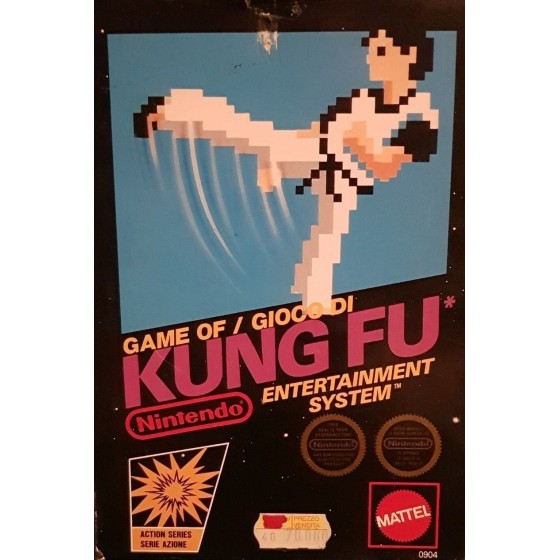 Kung Fu - NES usato