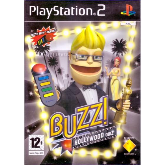 Buzz! Hollywood Quiz - PS2