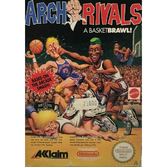 Arch Rivals - NES